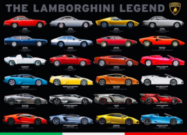 Eurographics 0822 - The Lamborghini Legends - 1000 stukjes
