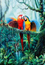 Art Puzzle - Love in the Forest - 260XL stukjes