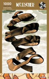 Puzzelman M.C. Escher - Omhulsel - 1000 stukjes