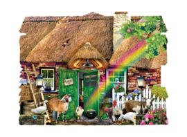 SunsOut 90350 - Irish Cottage - 1000 stukjes  Vormpuzzel