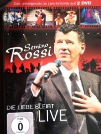 Semino Rossi   *Die liebe bleibt*  2-dvd