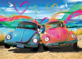 Eurographics 5525 - VW Beetle Love - 1000 stukjes