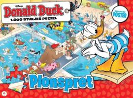 Just Games Donald Duck 5 - Plonspret - 1000 stukjes