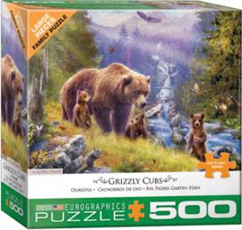 Eurographics 5546 - Grizzly Cubs - 500XL stukjes