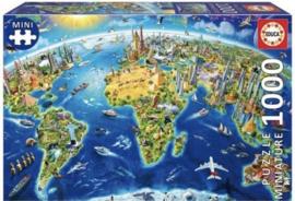Educa - Wereldsymbolen  Miniatuur Serie - 1000 stukjes