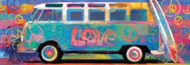 Eurographics  - Samba Pa' Ti- Love Bus VW - 1000 stukjes  Panorama