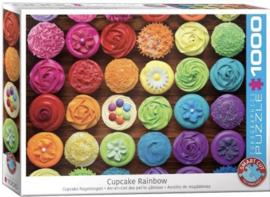 Eurographics 5625 - Cupcake Rainbow - 1000 stukjes