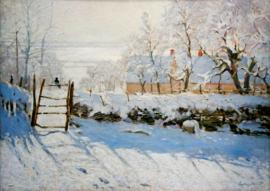 Bluebird Claude Monet - The Magpie - 1000 stukjes