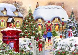 Bluebird - Winter Cottage - 1000 stukjes