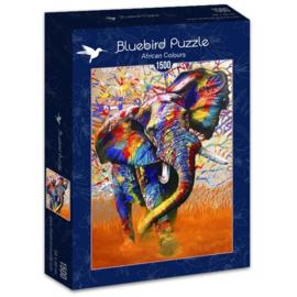 Bluebird - African Colours - 1500 stukjes