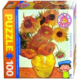 Eurographics 3688 - Twelve Sunflowers - 100XXL stukjes