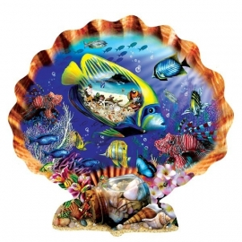 SunsOut 95355 - Souvenirs of the Sea - 1000 stukjes  Vormpuzzel