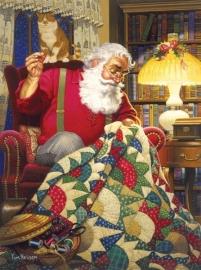 SunsOut 23328  Quilting Santa Quilts  1000 stukjes  OP=OP