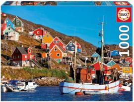 Educa - Noorse Huizen - 1000 stukjes