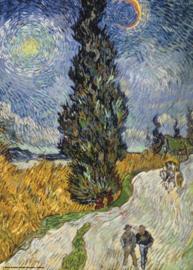 Puzzelman Vincent van Gogh - Landweg - 1000 stukjes