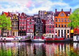 Educa - Dansende Huizen Amsterdam - 1000 stukjes