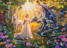 Eurographics - Princess' Garden - 500XL stukjes