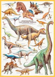 Eurographics 0099 - Dinosaurs of the Jurassic - 1000 stukjes
