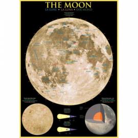 Eurographics 1007 - The Moon - 1000 stukjes