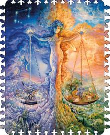 DaVICI  Josephine Wall - Zodiac Weegschaal - 100 stukjes