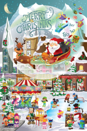 SunsOut 32210 - a Christmas Village for All Ages - 625 XL stukjes
