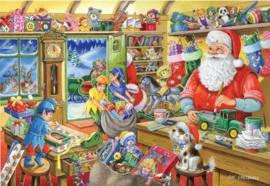 House of Puzzles - Santa's Workshop 500 stukjes