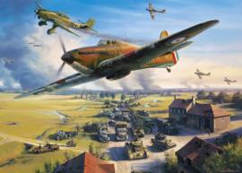 Gibsons 6299 - Road to Dunkirk - 1000 stukjes