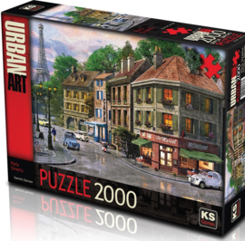 KS - Paris Streets - 2000 stukjes