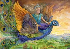 Grafika Josephine Wall - Peacock Princess - 2000 stukjes
