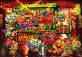 Bluebird - Flower Market Stall - 1000 stukjes