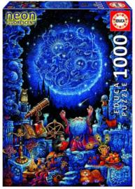 Educa - Astrologie, Neon - 1000 stukjes