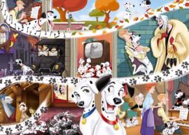 Jumbo Classic Collection - Disney 101 Dalmatiers - 1000 stukjes