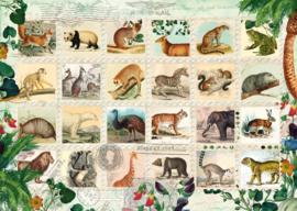 Schmidt -  Dierlijke  Postzegels - 1000 stukjes