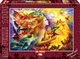 Art Puzzle - Butterfly's Dream - 1000 stukjes