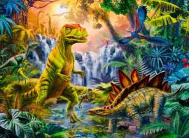 Ravensburger - Oase van Dinosauriers - 100XXL stukjes