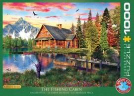 Eurographics 5376 - The Fishing Cabin - 1000 stukjes