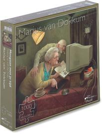 Art Revisited Marius van Dokkum - Meegaan Met Je Tijd - 1000 stukjes
