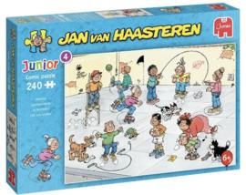 Jan van Haasteren - Speelkwartiertje - 240 stukje  JUNIOR)