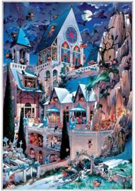 Heye - Castle of Horror - 2000 stukjes  Triangular Box