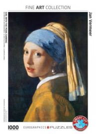 Eurographics Johannes Vermeer - Girl With the Pearl Earring - 1000 stukjes