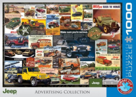 Eurographics 0758 - Jeep Advertising Collection - 1000 stukjes