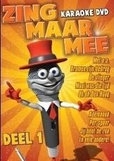 Zing Maar Mee Karaoke dvd deel 1