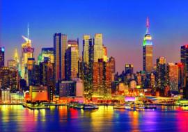 Educa - Manhattan bij Nacht - 1500 stukjes