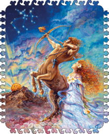 DaVICI Josephne Wall - Zodiac Boogschutter - 100 stukjes