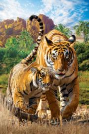 Eurographics 5559 - Tigers - 250 stukjes