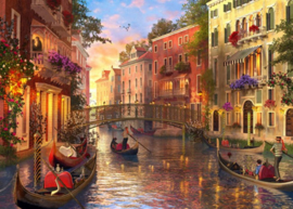 Educa - Zonsondergang in Venetie - 1500 stukjes