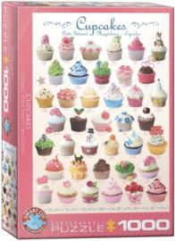 Eurographics 0409 - Cupcakes - 1000 stukjes