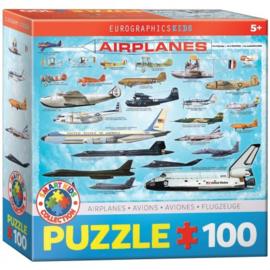 Eurographics 0086 - Airplanes - 100XXL stukjes