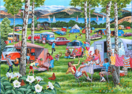 House of Puzzles - Camping Chaos - 500XL stukjes