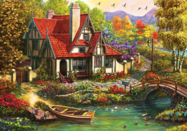 KS - Riverside Cottage - 1000 stukjes